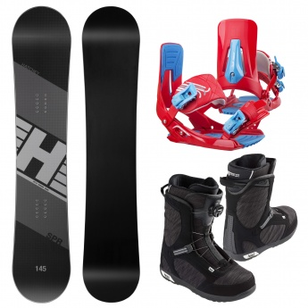 Snowboard set Hatchey SPR +...