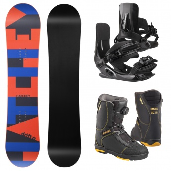 Snowboard set Hatchey Drift...