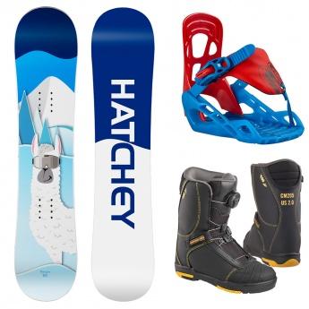 Snowboard set Poco Loco + P...