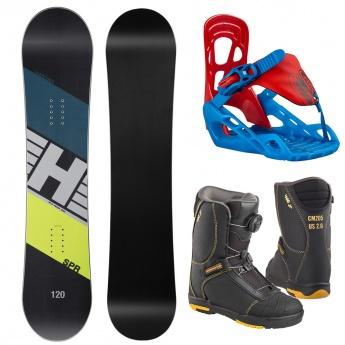 Snowboard set SPR Kid + P...