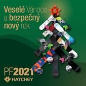 Krásné a klidné prožití Vánoc 🎄 a šťastný nový rok 🍾 Vám přeje team HATCHEY